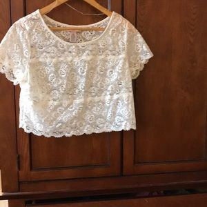 La Senza lace sleeping top, sz M